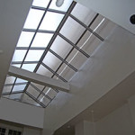inside view of skylight in 450 post street case study