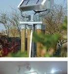 Aulnay, France Fiber Optic Lighting