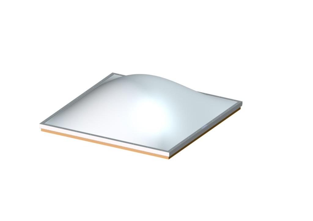 Thermalized Acrylic Skylight Domes