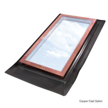 Hurricane-Resistant Fixed Glass Skylight