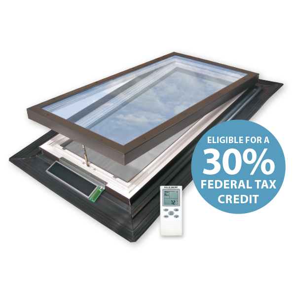 Motorized Vented E Class Model Ultraseal Evms Skylight