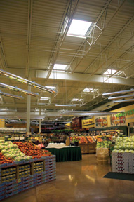 Lumira™ Aerogel Thermal Unit Skylights In Hannaford Supermarket