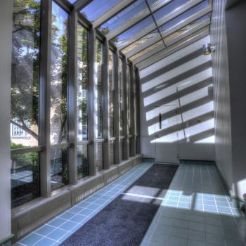 Pinnacle 600 Lean-To in Office Building