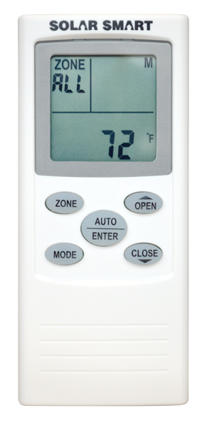 Solar Smart Hand Held Remote Control For Skylight Functions