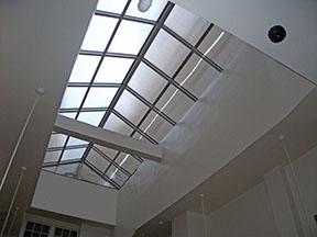 inside view of skylight in 450 post street case study