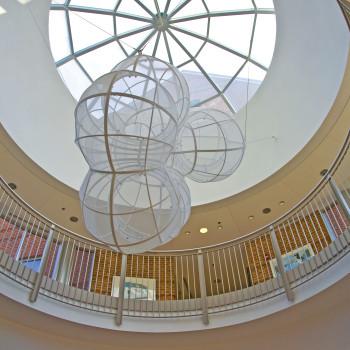 Baker Science Center Interior - Pinnacle 600, Segmented Dome