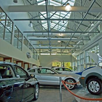 Beach Ford Interior - Pinnacle 600 Structural Ridge Skylight