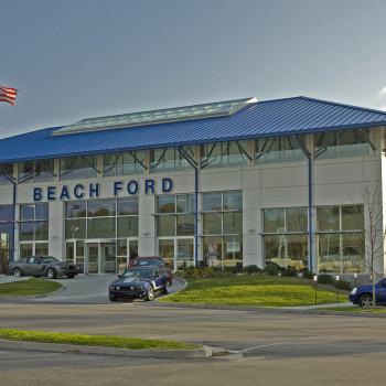 Beach Ford Exterior - Pinnacle 600 Structural Ridge Skylight