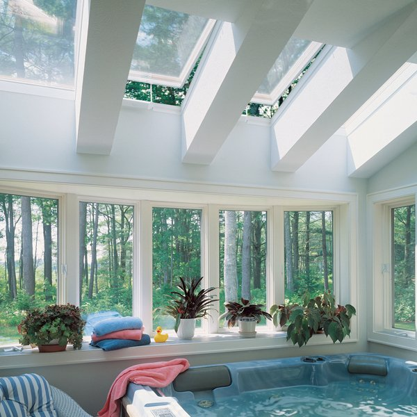 Economy Curb Mount Skylight Applications