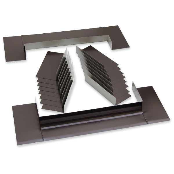 Curb Mount Skylight Step Flashing Kit