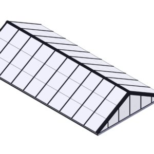 Polycarbonate Double Pitch - Black