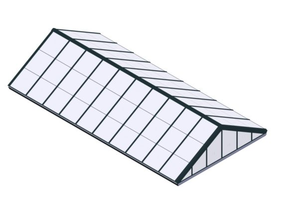 Polycarbonate Double Pitch - Hartford Green