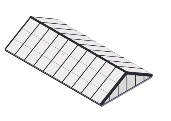 Polycarbonate Double Pitch - Quaker Bronze