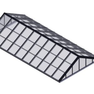 Double Pitch - Hurricane Rated Skylight