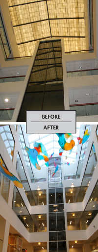 Before and After Pinnacle System Installation