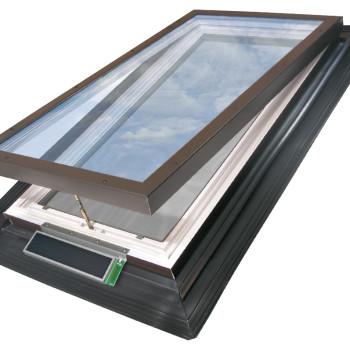 EVMS Unit with Solar Panel and Rain Sensor