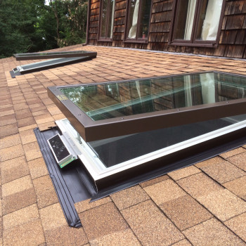 Solar Powered Skylights on Roof
