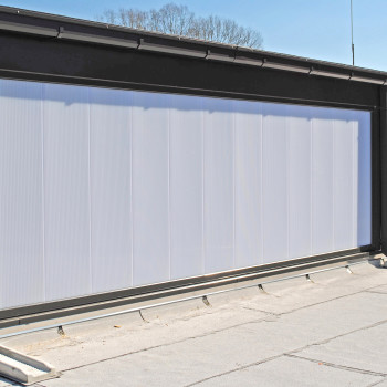 LumiWall 40mm Vertical Translucent Polycarbonate