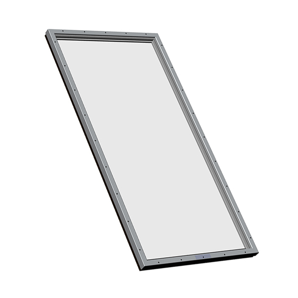 Skymax large flat glass unit skylight for commercial use for Large skylights