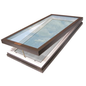 Manually Venting Skylight