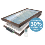 Solar Powered Motorized Venting Skylight