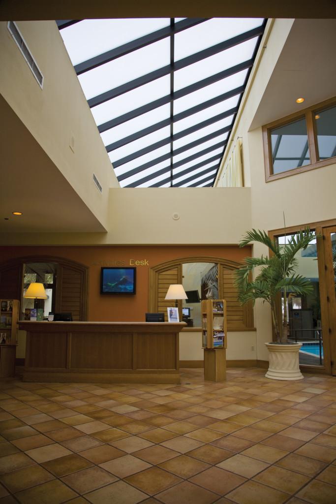 Interior - Pinnacle 600 Lean-To