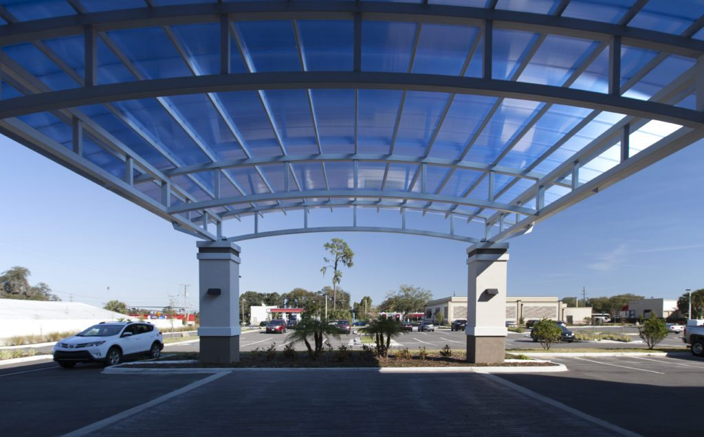 Low Rise Translucent Canopy
