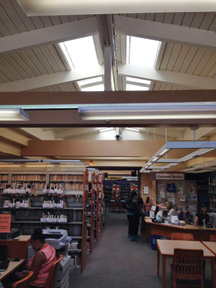 EcoSky3 Unit Skylights in Vallejo Library/Fire Station