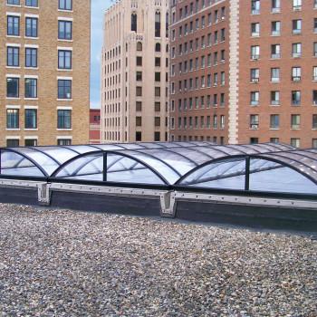 Iona Kent County Courthouse - Lumira™ Aerogel Barrel Vault Skylights