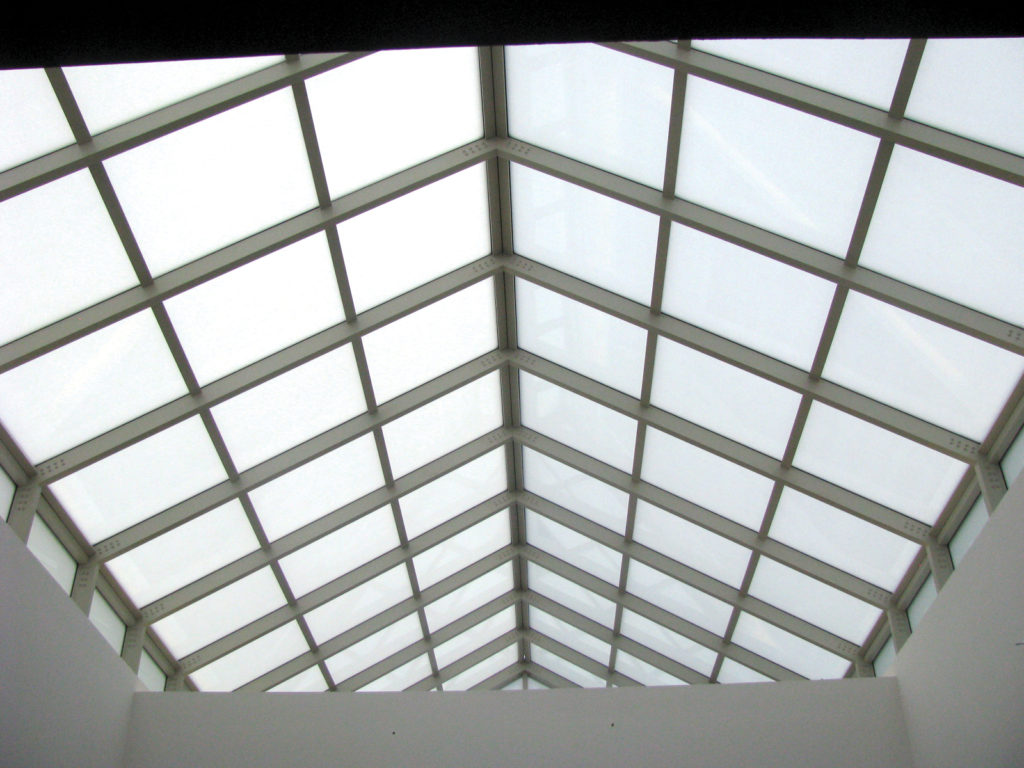 Pinnacle 600 Double Pitch with Translucent Insulated Glass