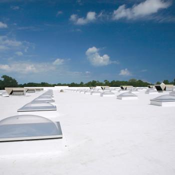 Lowes Exterior - Plastic Glazed CSNT Unit Skylights with Lumira Aerogel