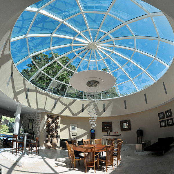 Octagonal pyramid architectural series for Architectural skylights