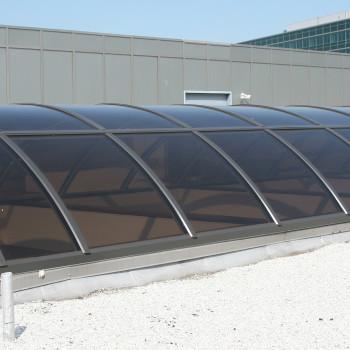 Exterior - Acrylic Barrel Vault