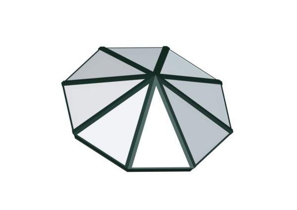 Octagonal Pyramid - Polycarbonate Hartford Green