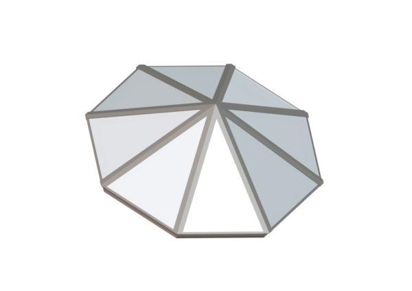 Octagonal Pyramid - Polycarbonate Sandstone