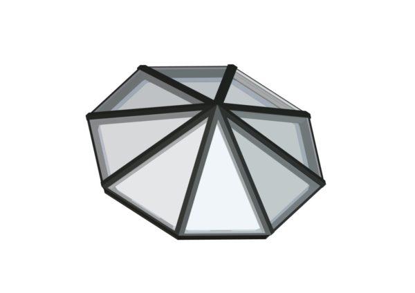 Octagonal Pyramid Quaker Bronze