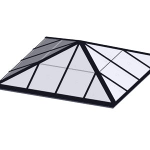Square Pyramid - Polycarbonate Black