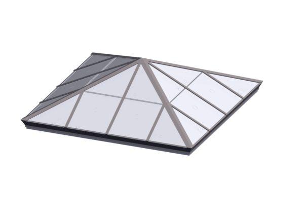 Square Pyramid - Polycarbonate Sandstone