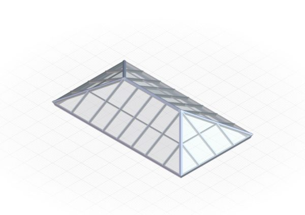 Polycarbonate Extended Pyramid