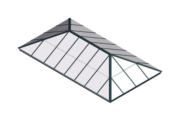 Polycarbonate Extended Pyramid - Hartford Green