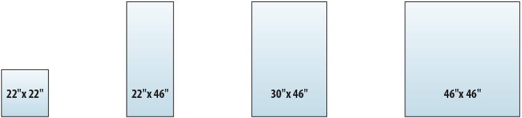 sageglass standard sizes