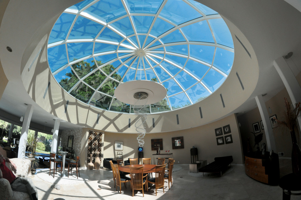 Glass Dome in Private Living Room