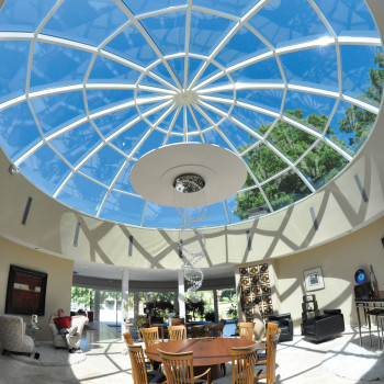 Private Residence Segmented Glass Dome