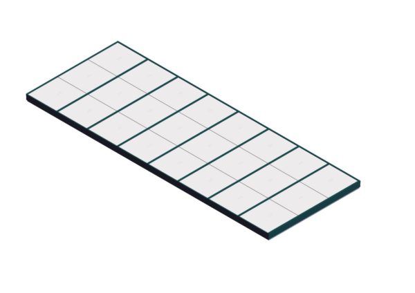 Polycarbonate Single Pitch – Interstate Green