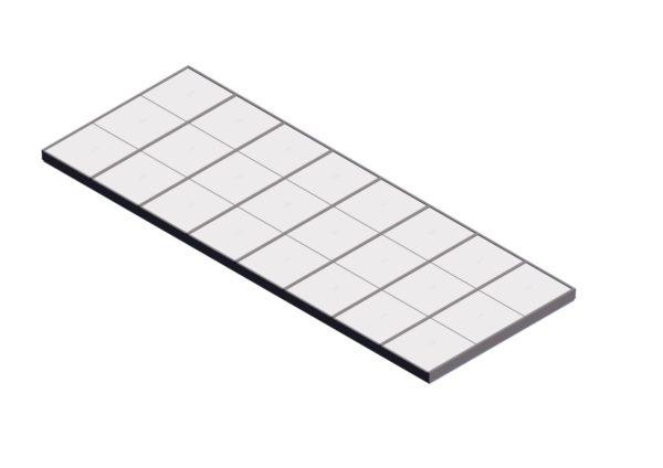 Polycarbonate Single Pitch – Sandstone
