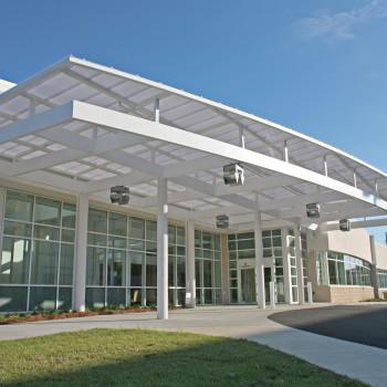 Medical Center Exterior - Horizon 626 System