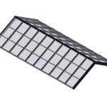 Structural Ridge Glass - Black