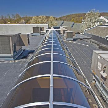 Exterior - Acrylic Barrel Vaults