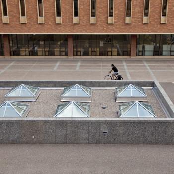Wilson Library Pyramid Skylights