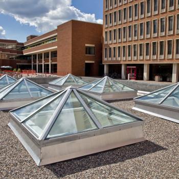 Classic Pyramid Skylights at University of Minnesota